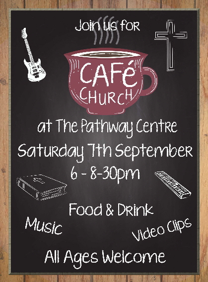 Cafe church poster Sept 19